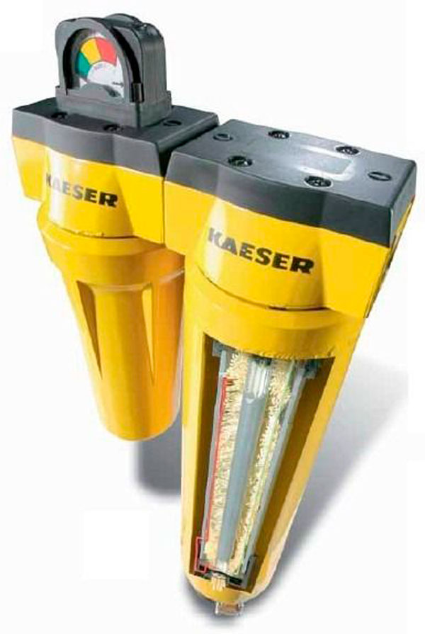 Kaeser Oil Filter Air Dryer Combo